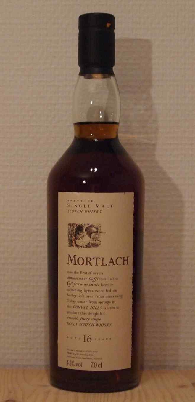 Whisky Mortlach 16yo Flora & Fauna