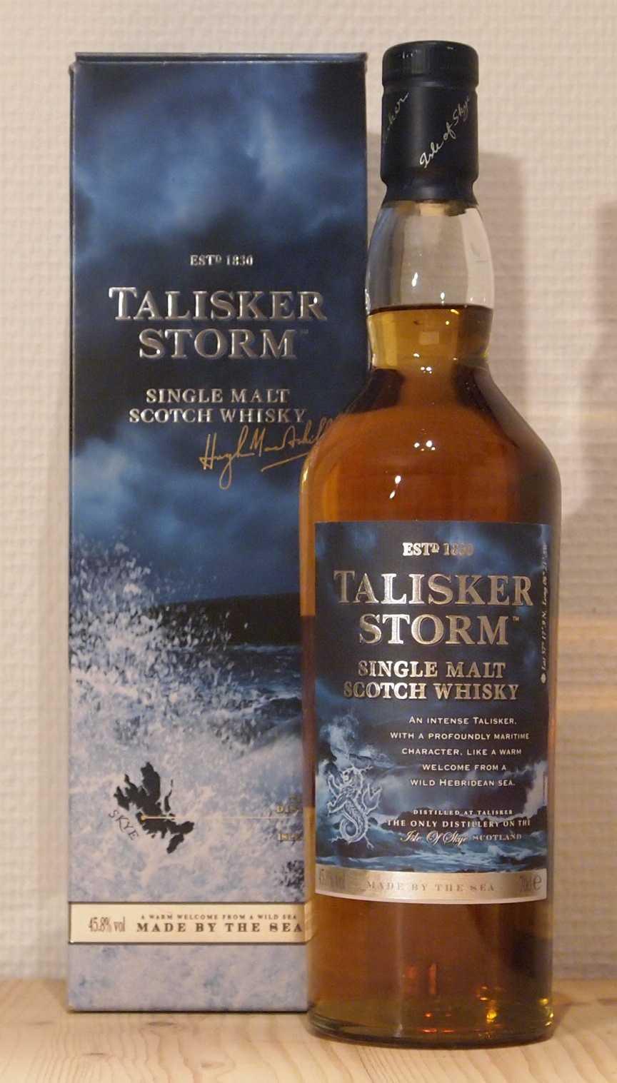 Whisky NAS Abfüllung Talisker Storm